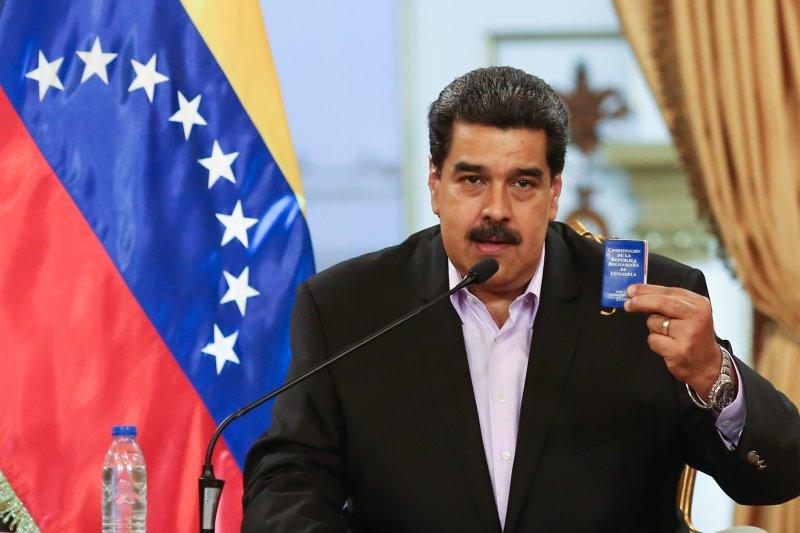 Los fiscales dicen que el presidente Nicolás Maduro y los miembros del cartel priorizaron el uso de la cocaína como arma contra Estados Unidos e importaron lo más posible a los Estados Unidos. Foto cortesía del gobierno venezolano / EPA-EFE