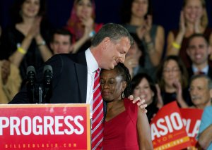 Bill de Blasio wins mayoral election in New York