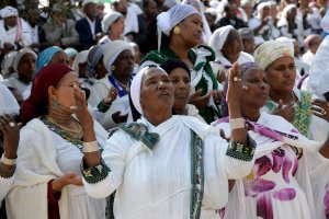 Ethioipian Jews Pray On Sigd Holiday, Jerusalem