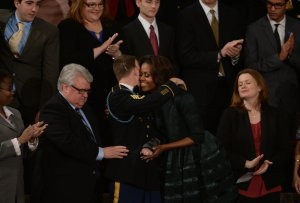 President Barack Obama delivers his State of the Union address in Washington