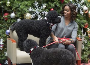 First Lady Michelle Obama visits Children's National Hospital in Washington, D.C.