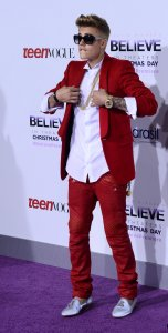 """Justin Bieber's Believe"" concert film premiere held in Los Angeles"