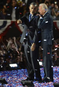 President Obama Election Night Rally in Chicago