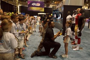 The Super Bowl XLVII NFL Experience in New Orleans