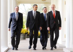 President Obama Meets With European Leaders in Washington