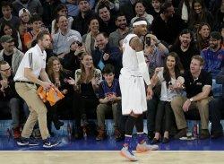 New York Knicks Carmelo Anthony at Madison Square Garden