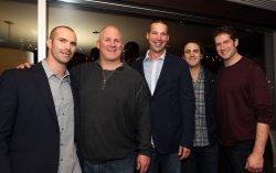 Retirement party for St. Louis Cardinals pitcher Chris Carpenter