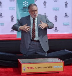 Francis Ford Coppola immortalized in forecourt of TCL Chinese Theatre in Los Angeles