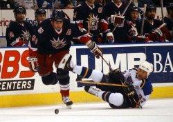 New York Rangers vs St. Louis Blues hockey