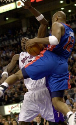 Detroit Pistons vs Toronto Raptors NBA Playoff Basketball