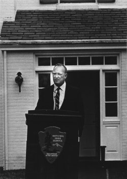 Opening of the Eisenhower National Historic Site in Gettysburg