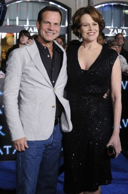 "Sigourney Weaver and Bill Paxton attend the premiere of the film ""Avatar"" in Los Angeles"