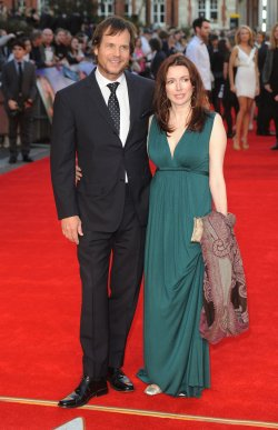 "Bill Paxton and Louise Newbury attends the World Premiere of ""Titanic 3D"" in London"