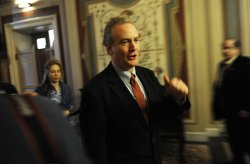 Deficit reduction super committee meets on Capitol Hill in Washington