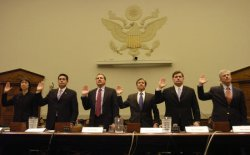 FORMER U.S. ATTORNEYS TESTIFY AT HOUSE COMMITTEE HEARING IN WASHINGTON