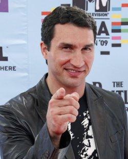 Wladimir Klitschko arrives at the MTV Europe Music Awards