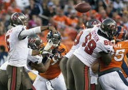 Tampa Bay Buccaneers vs Denver Broncos in Denver