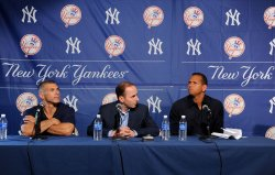 New York Yankees' Alex Rodriguez speaks on his use of banned performance enhancing drugs