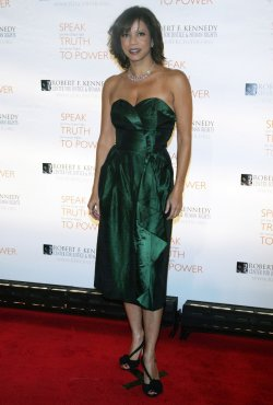 Gloria Reuben arrives for the Ripple of Hope Awards in New York