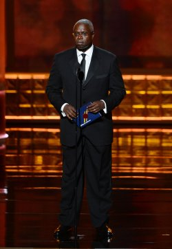 Andre Braugher attends the 64th Primetime Emmy Awards in Los Angeles