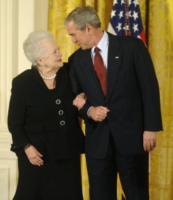 President Bush awards the 2008 National Medals of Arts and National Humanities Medals in Washington.