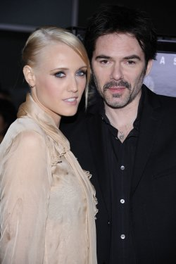"Billy Burke and wife Pollyanna Rose attend the premiere of the film ""Drive Angry"" in Los Angeles"