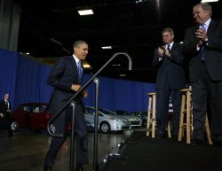 President Obama announces new fuel standards in Washington