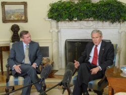 BUSH TAPS GILLESPIE AS WHITE HOUSE COUNSELOR IN WASHINGTON