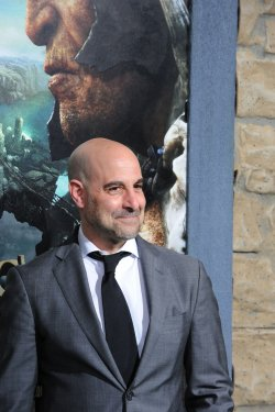 """Stanley Tucci attends """"Jack the Giant Slayer"""" premiere in Los Angeles"""
