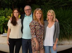 Actress Lea Thompson And Family Visit Israel