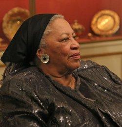 Toni Morrison at the US Embassy in Paris