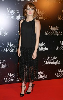 """French premiere of the film """"Magic in the Moonlight"""" in Paris"""