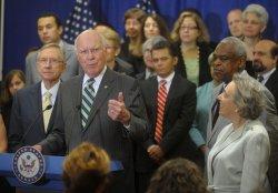 Senators and special interest groups speak in favor of Sonia Sotomayor in Washington