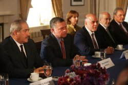 President Obama Meets with Coalition against ISIS