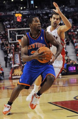 Toronto Raptors host New York Knicks in home opener