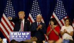 Donald Trump RNC goodbye Reception in Cleveland