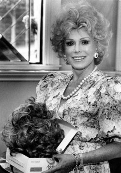 Eva Gabor, seen here in this 1988 photo.