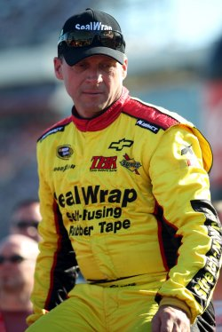 Dave Blaney at Coca-Cola 600 Race at the Charlotte Motor Speedway in Concord, North Carolina