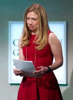 Chelsea Clinton speaks at the 2013 Clinton Global Initiative Annual Meeting in New York