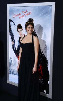"Gemma Arterton attends the ""Hansel & Gretel: Witch Hunters"" premiere in Los Angeles"