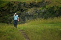 Round One of the US Open in Ardmore, Pennsylvania