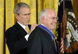 President Bush awards the Presidential Medal of Freedom in Washington