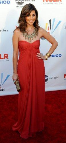 Jamie-Lynn Sigler arrives at the ALMA Awards in Los Angeles