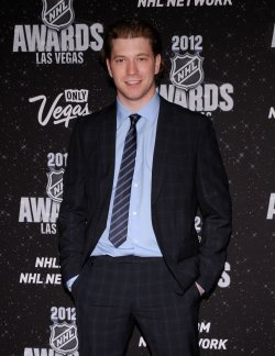 Claude Giroux arrives at the 2012 NHL Awards in Las Vegas