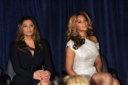 Beyonce Cosmetology Center at Phoenix House Press Conference in Brooklyn, New York
