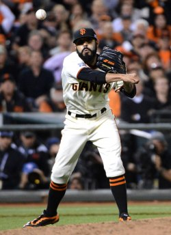 Game 4 of the NLCS St. Louis Cardinals vs. San Francisco Giants