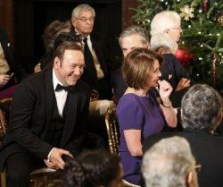 President Barack Obama delivers remarks at Kennedy Center Honors Reception
