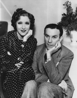 George Burns and Gracie Allen in ca. 1935