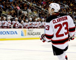 Devils David Clarkson scores in Pittsburgh