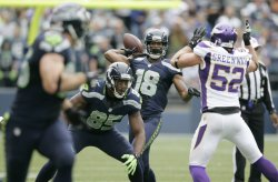 Seahawks beat the Viking 30-20 in Seattle.